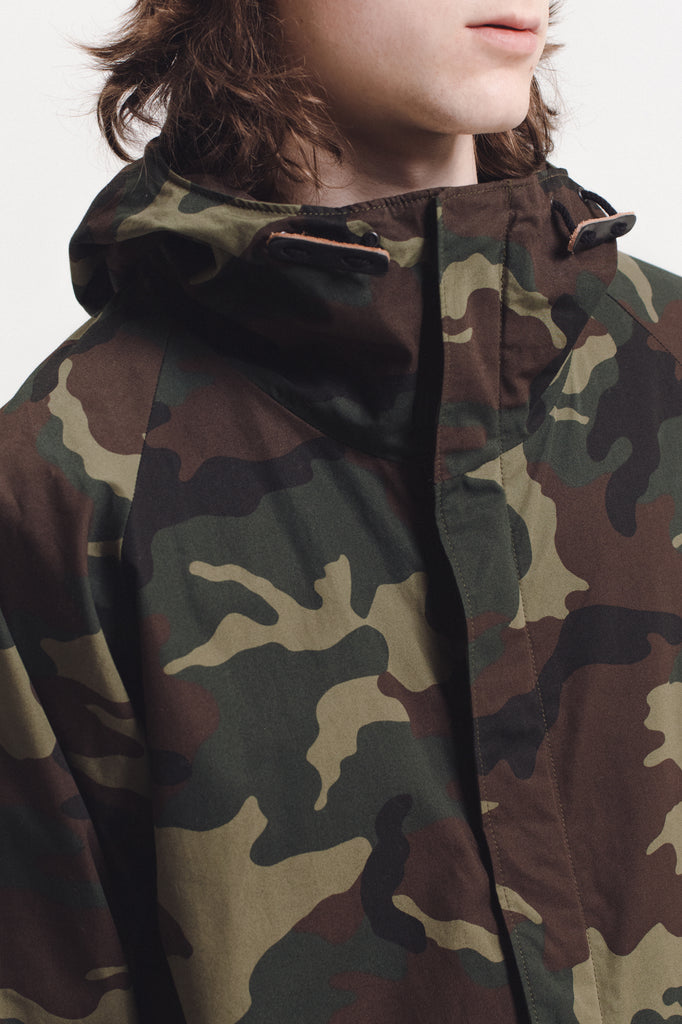 Hooded Jacket - Camo - [product _vendor]