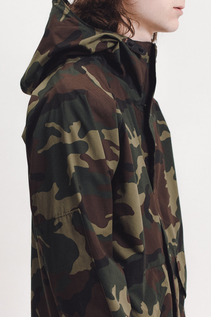 Hooded Jacket - Camo