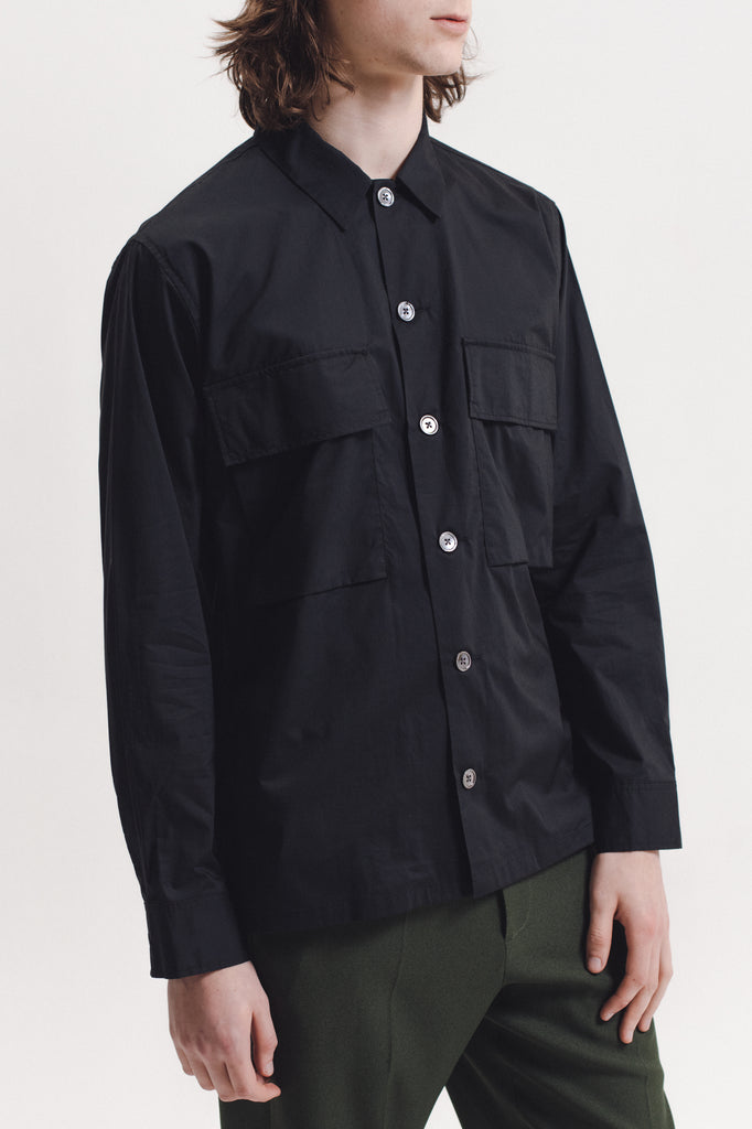 Typewriter LS Shirt - Black - [product _vendor]