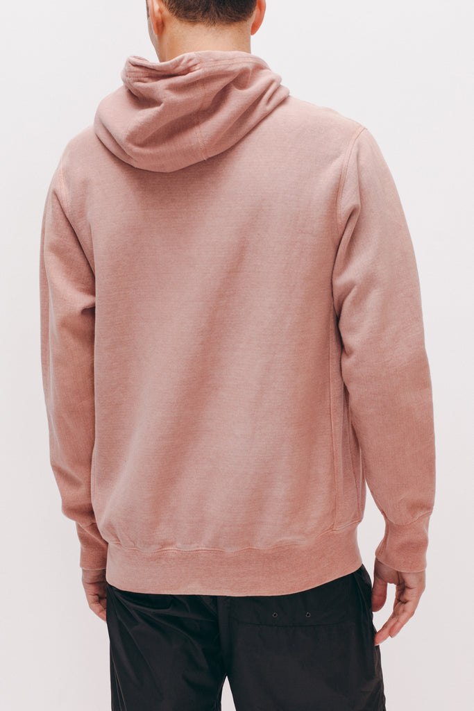 Natural Dyed Hoodie Fleece - Dusty Pink - [product _vendor]