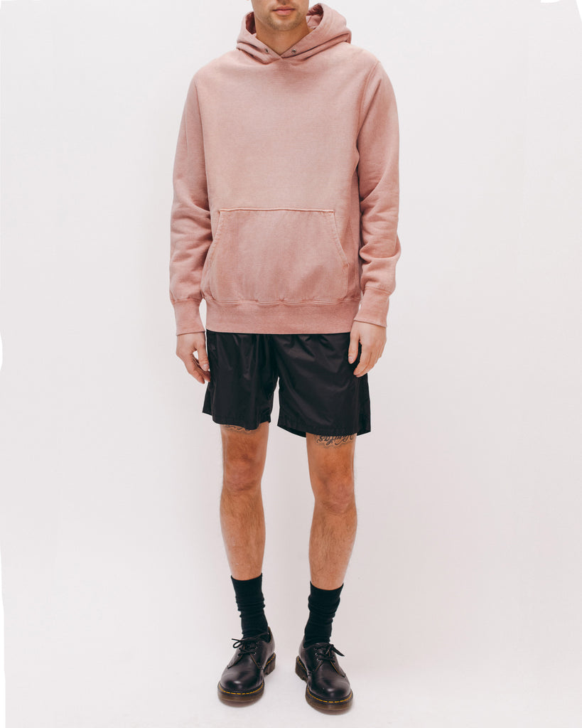 Natural Dyed Hoodie Fleece - Dusty Pink - Maiden Noir