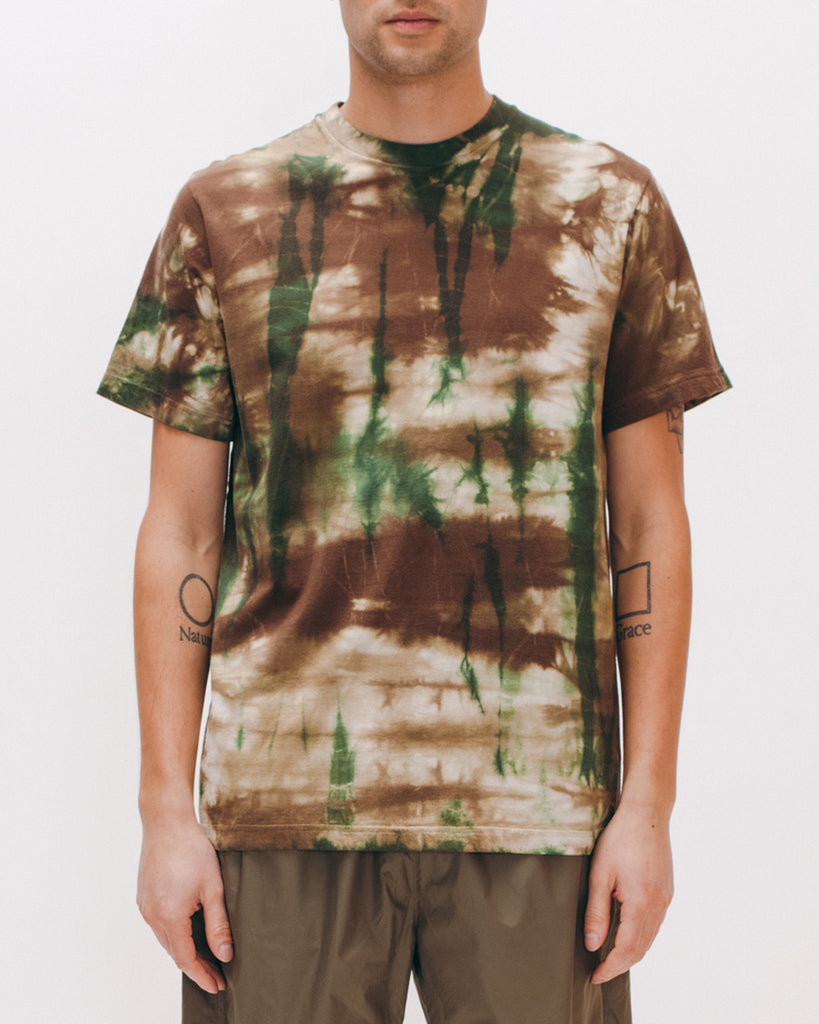 Natural Dyed Block S/S Jersey - Woodland Tie Dye - [product _vendor]