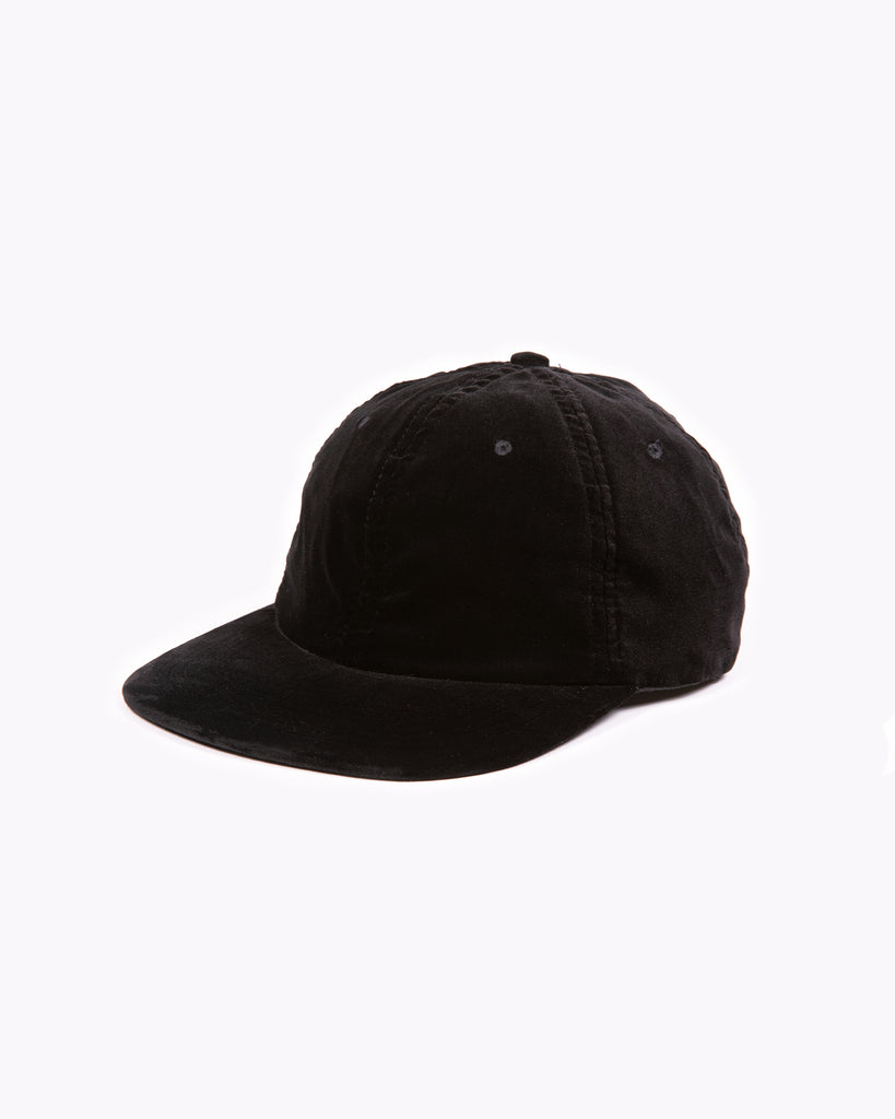 Velvet Ball Cap - Black W