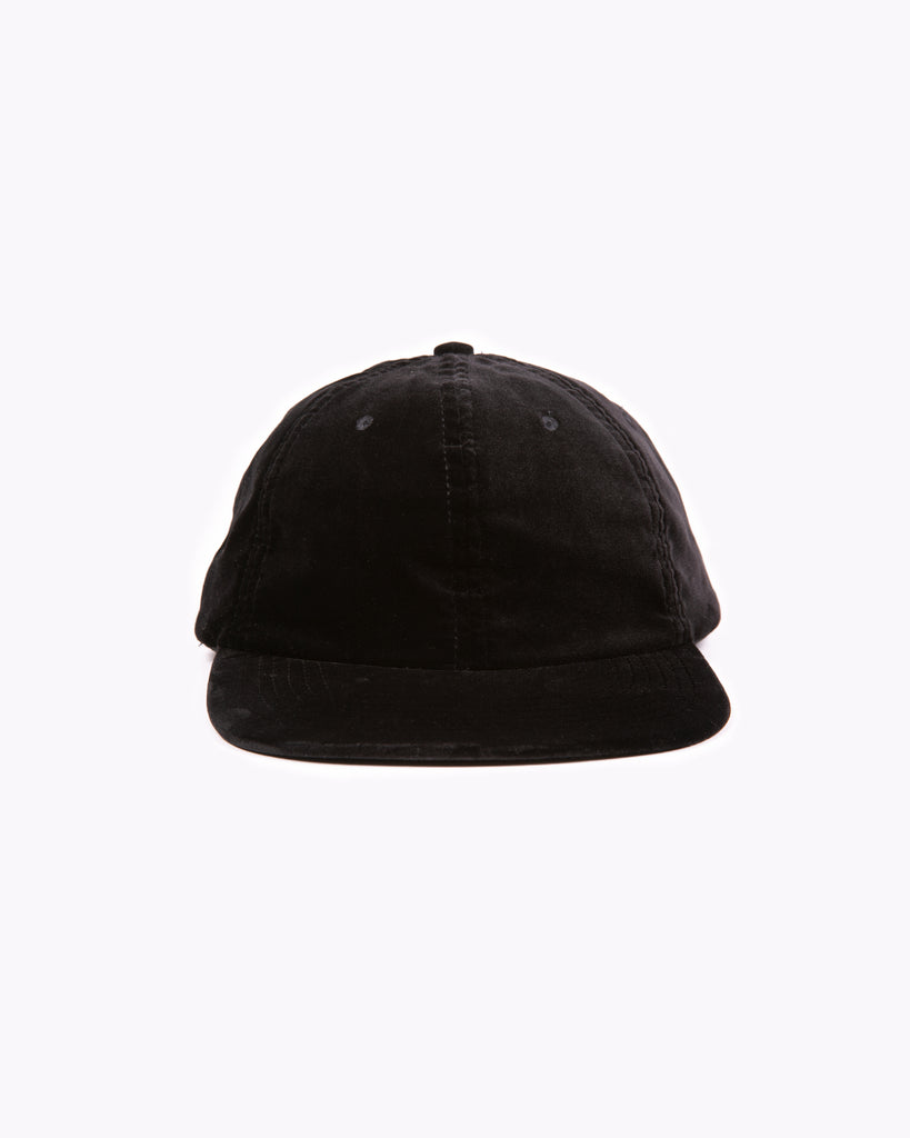 Velvet Ball Cap - Black