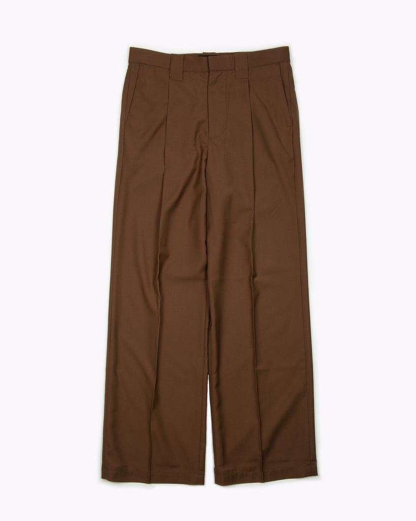 Rayon Work Trouser - Brown