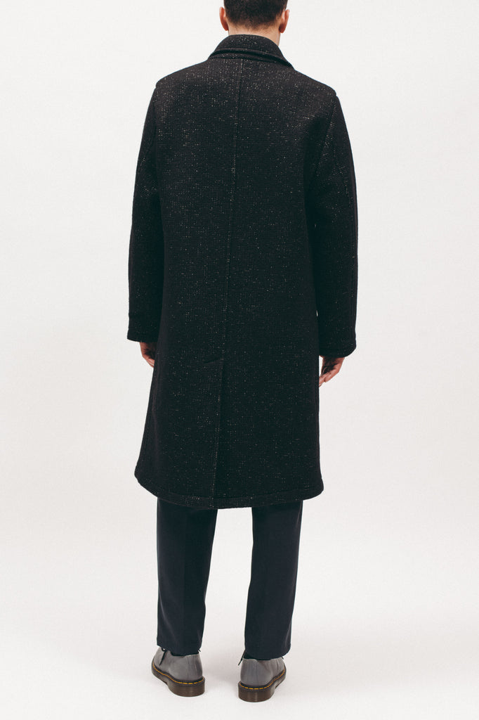 Nap Wool Overcoat - Black - [product _vendor]