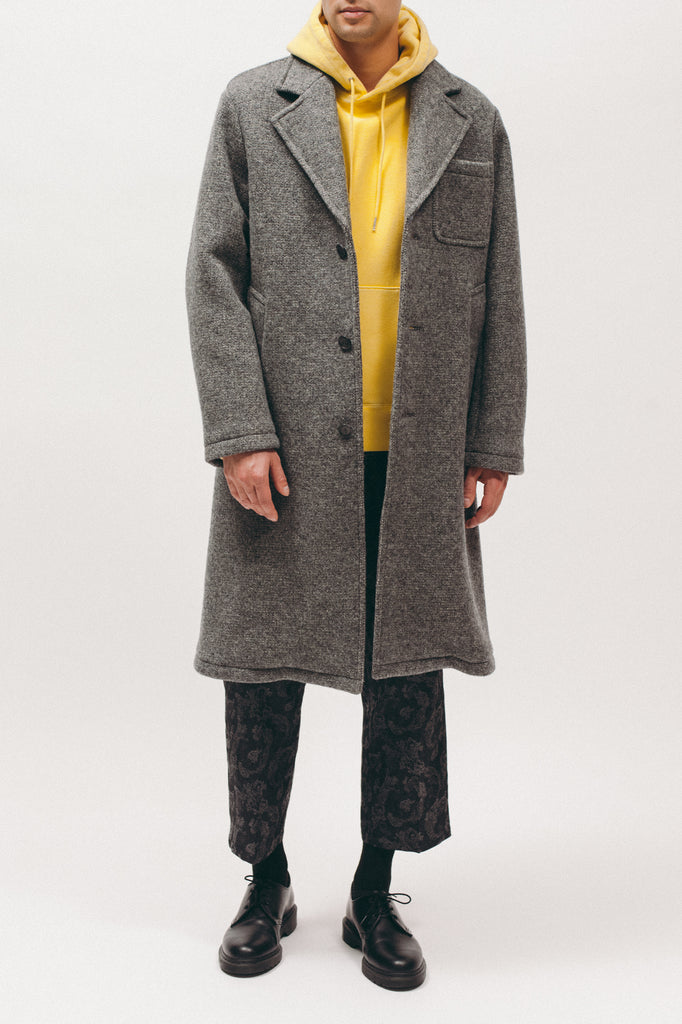 Nap Wool Overcoat - Grey - [product _vendor]