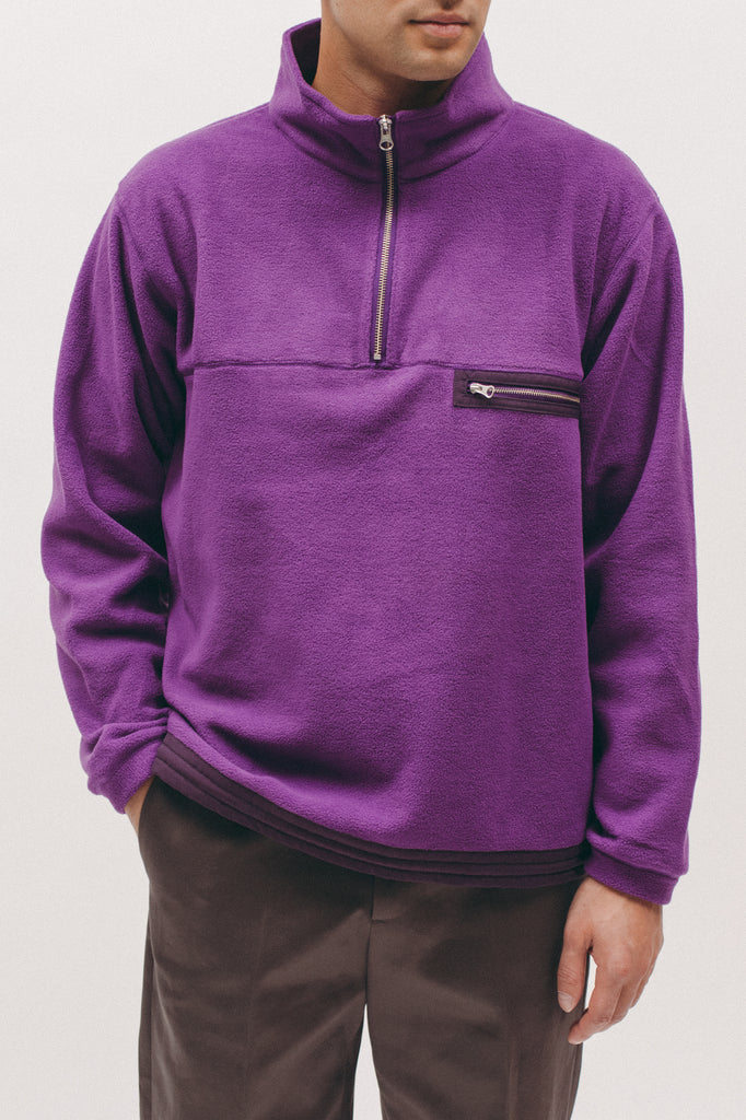 Polar Fleece Popover- Purple - [product _vendor]