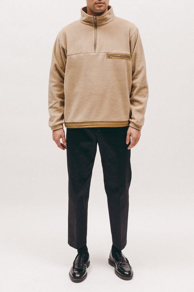 Polar Fleece Popover- Tan - [product _vendor]