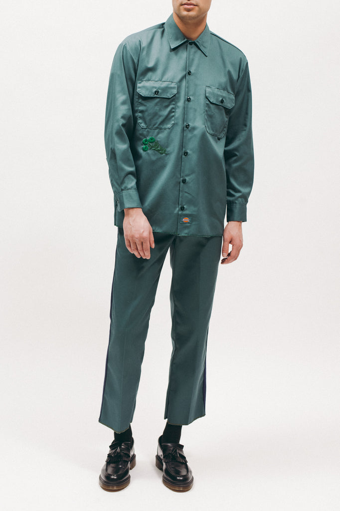 Dickies Work Shirt - Lincoln Green