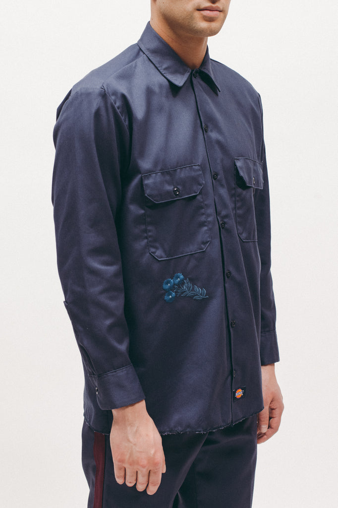 Dickies Work Shirt - Navy - [product _vendor]