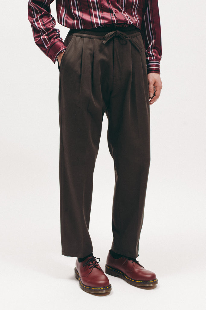 Calvary Elastic Waist Trouser - Dark Charcoal - [product _vendor]
