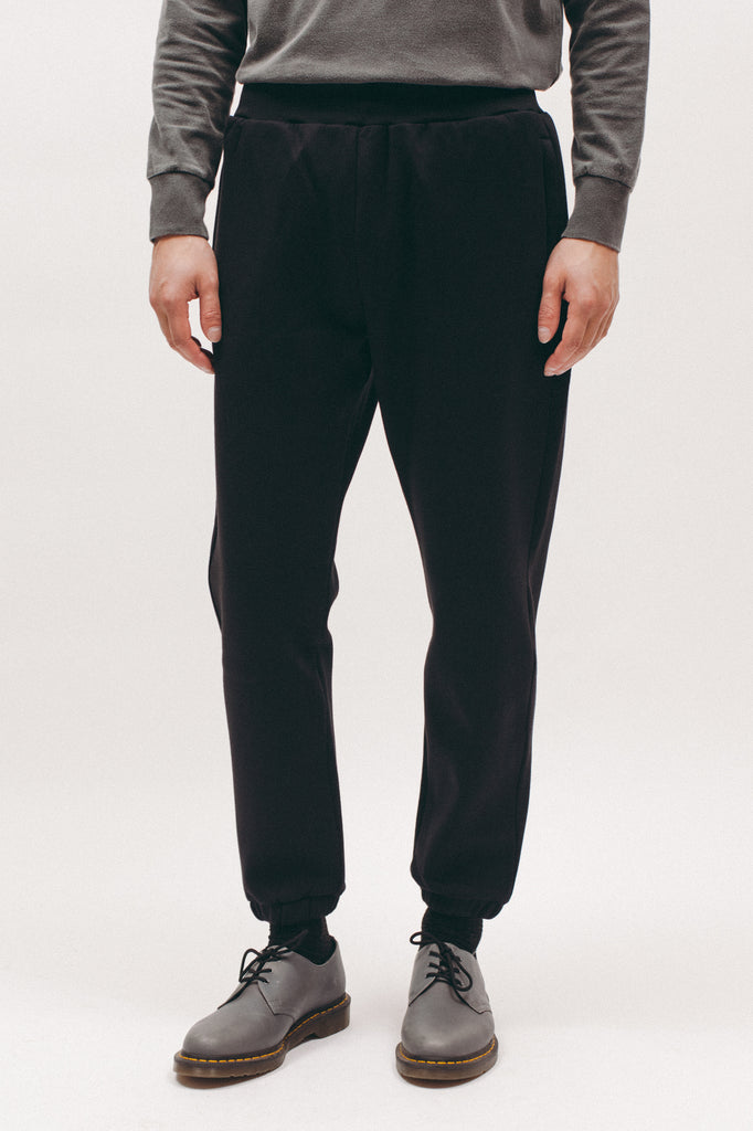 Poly Fleece Pants - Black - [product _vendor]