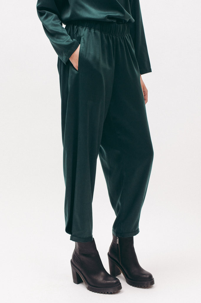 Cuff Trouser - Emerald - [product _vendor]
