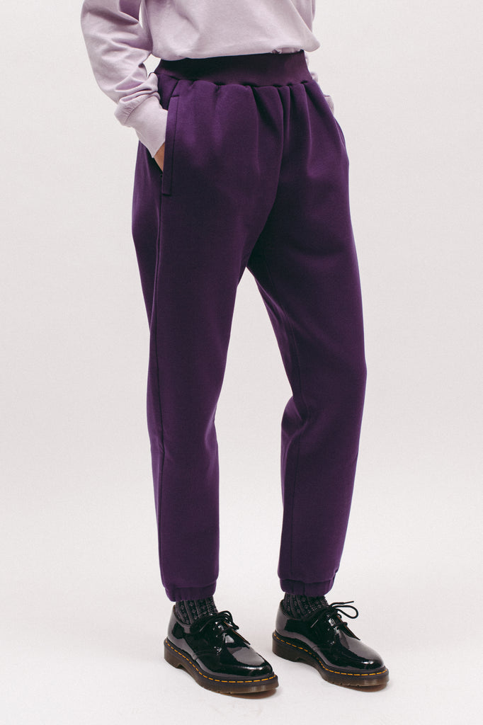 Poly Fleece Pants - Lavender W