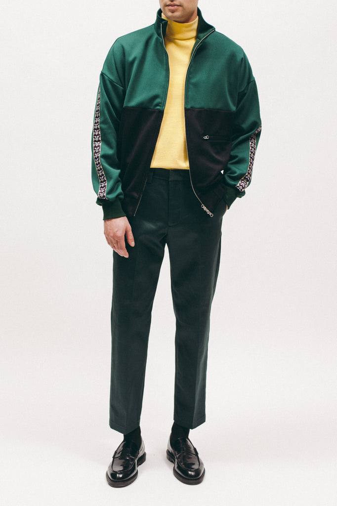 Track Jacket - Evergreen/Black