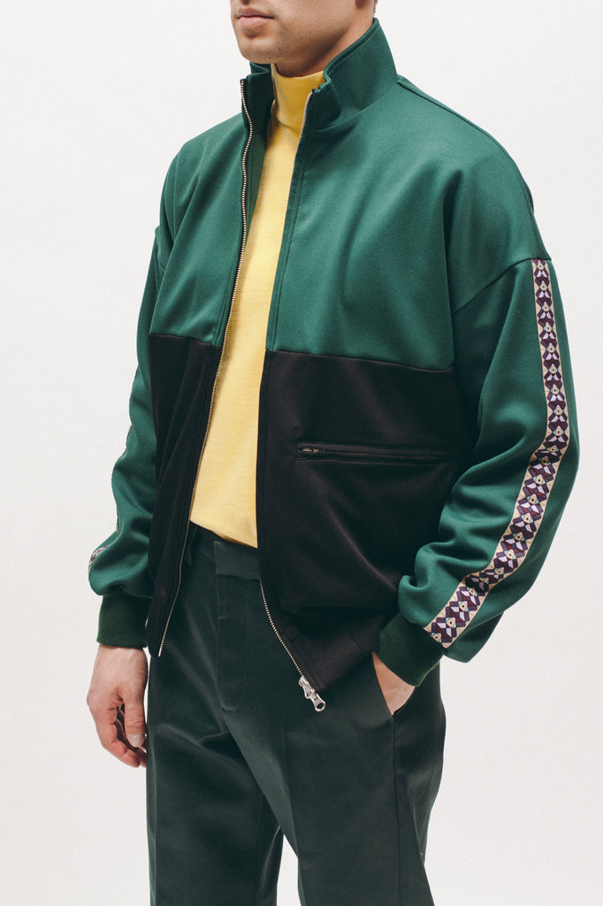 Track Jacket - Evergreen/Black - [product _vendor]
