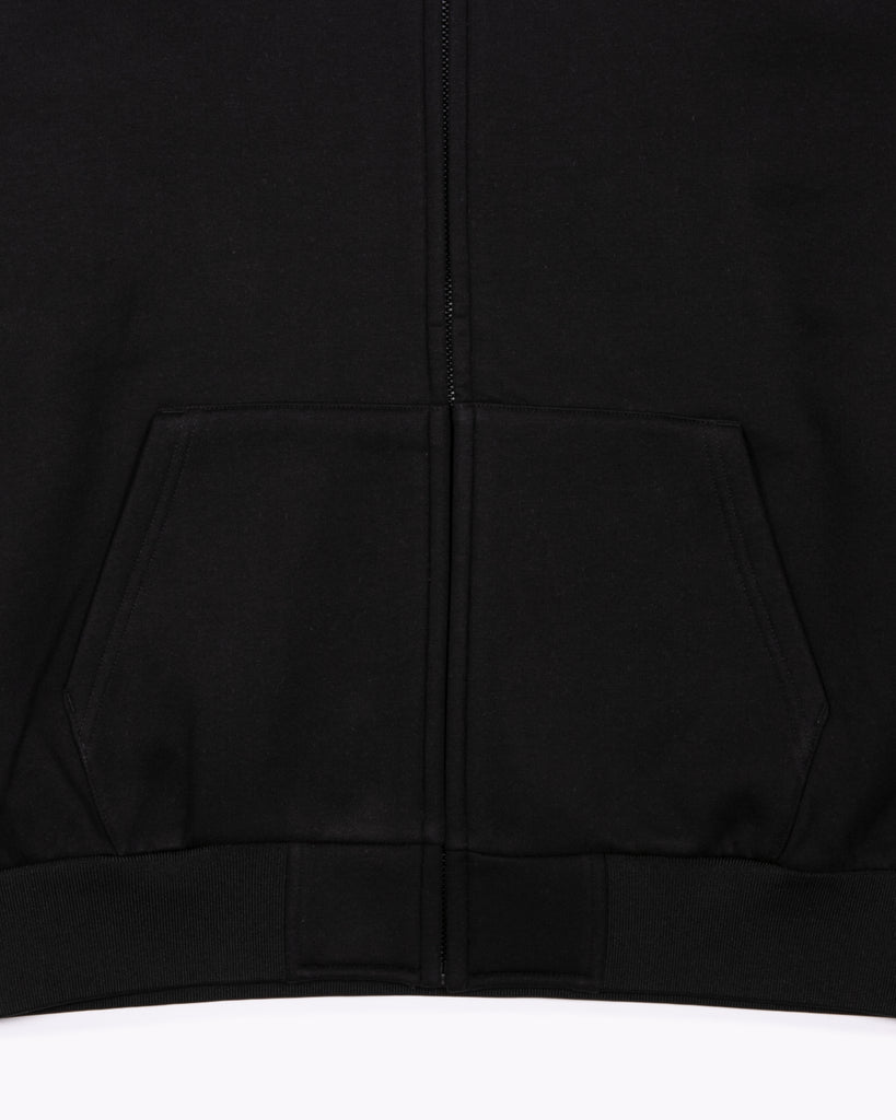 Hoodie Poly Fleece - Black W