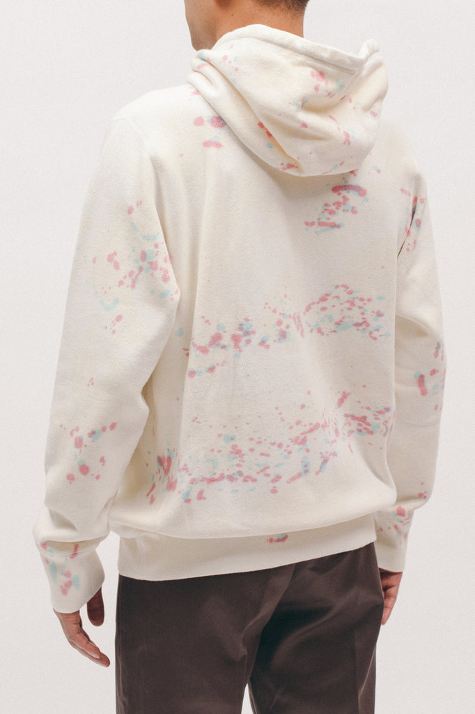 Natural Dyed Hoodie Fleece - Splatter Tie Dye