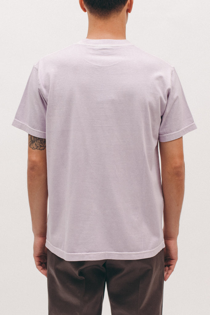 Natural Dyed Block S/S Jersey - Lavender