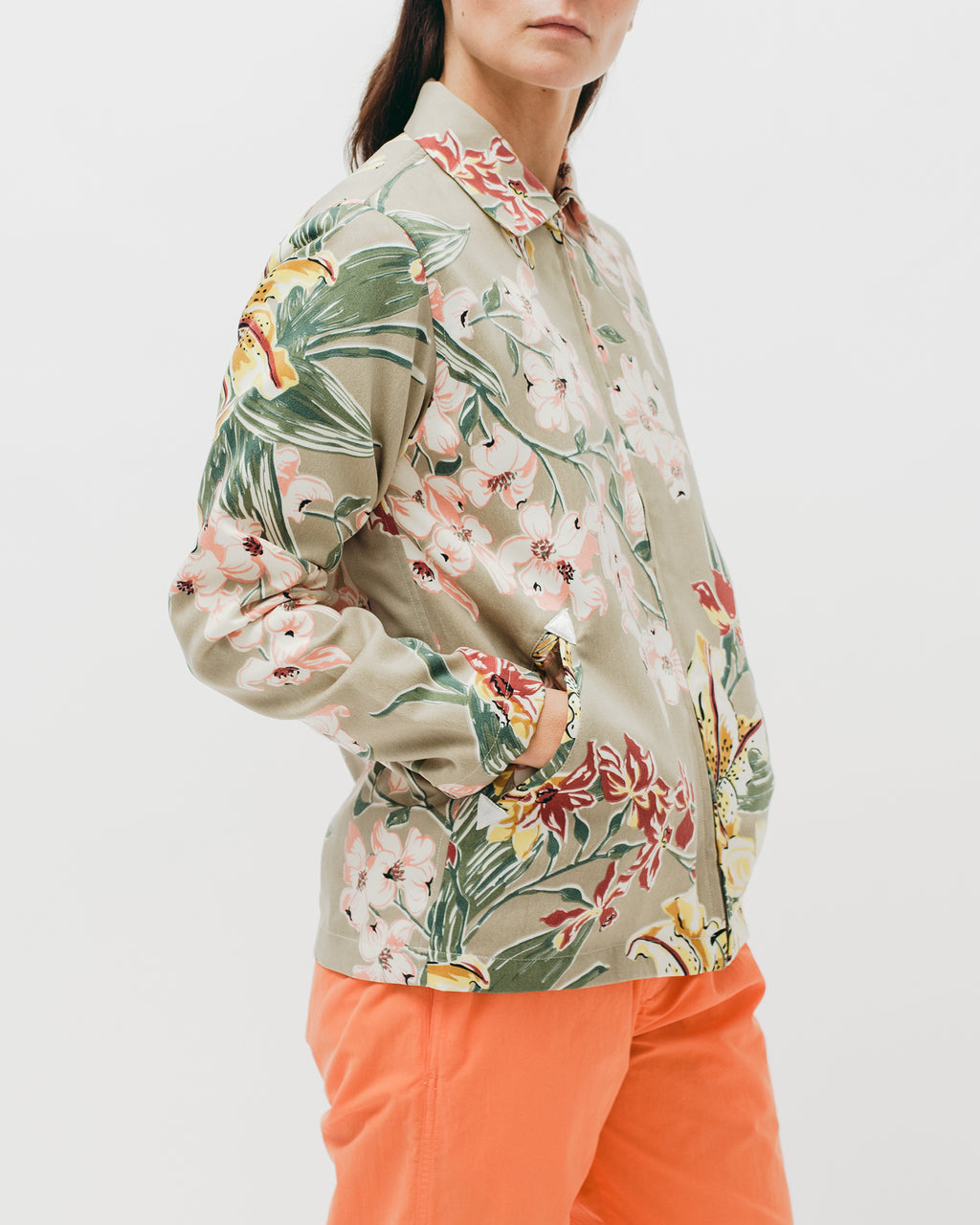 Lilium Zip Blouson - Beige - [product _vendor]