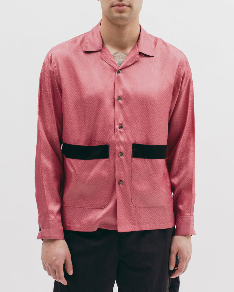 Tile L/S Shirt - Coral - [product _vendor]