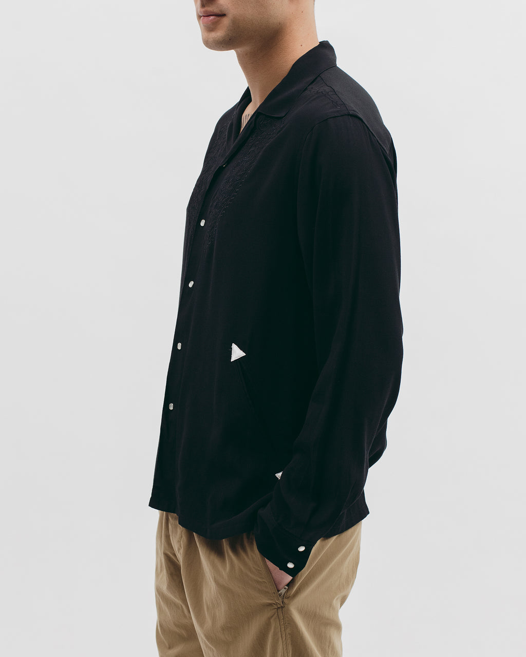 Parque L/S Shirt - Black - [product _vendor]
