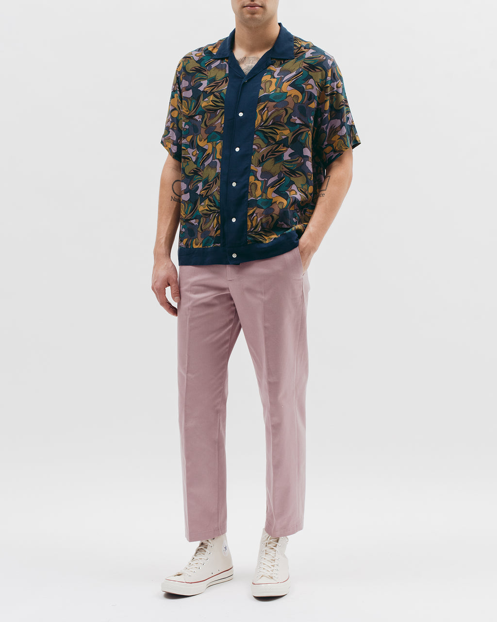 Tropical S/S Shirt - Lavender - [product _vendor]