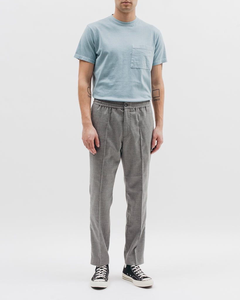 Elastic Pleated Trouser - Grey - [product _vendor]