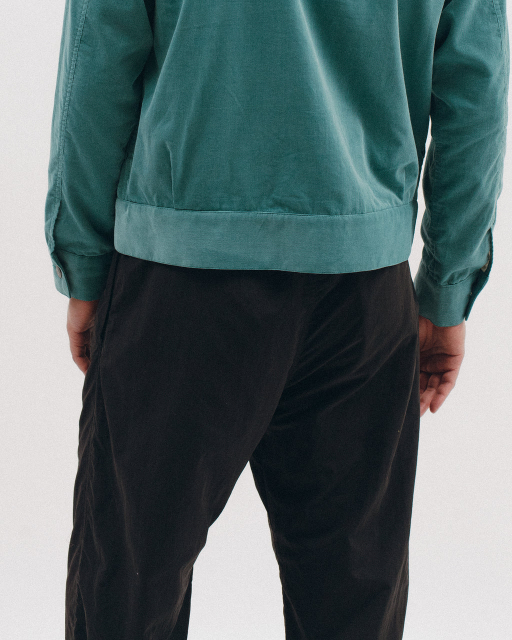 Brushed Tech Trouser - Black - [product _vendor]