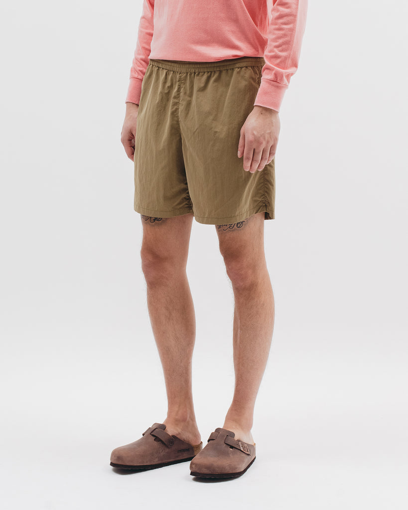 Brushed Tech Short - Tropical Green - Maiden Noir