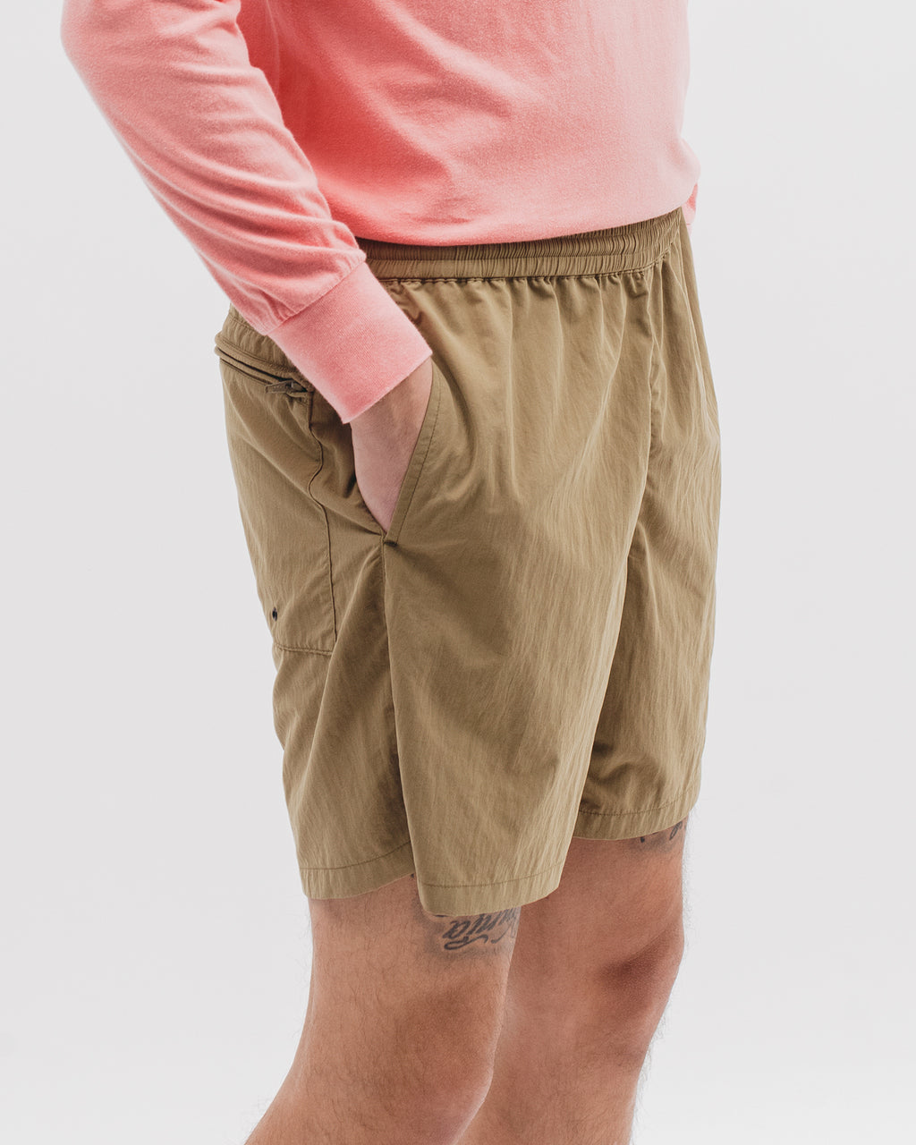 Brushed Tech Short - Tropical Green - [product _vendor]