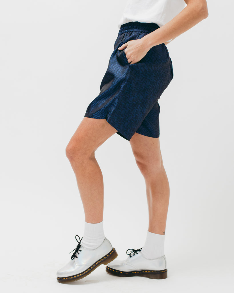 Tile Short - Navy - Maiden Noir