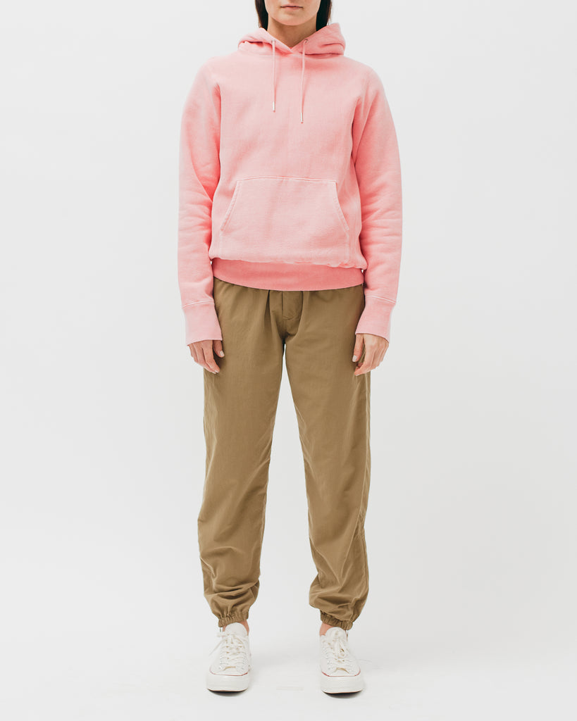 Natural Dyed Hoodie Fleece - Coral - [product _vendor]