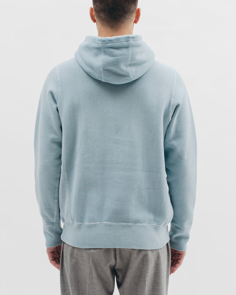 Natural Dyed Hoodie Fleece - Dusty Teal - [product _vendor]