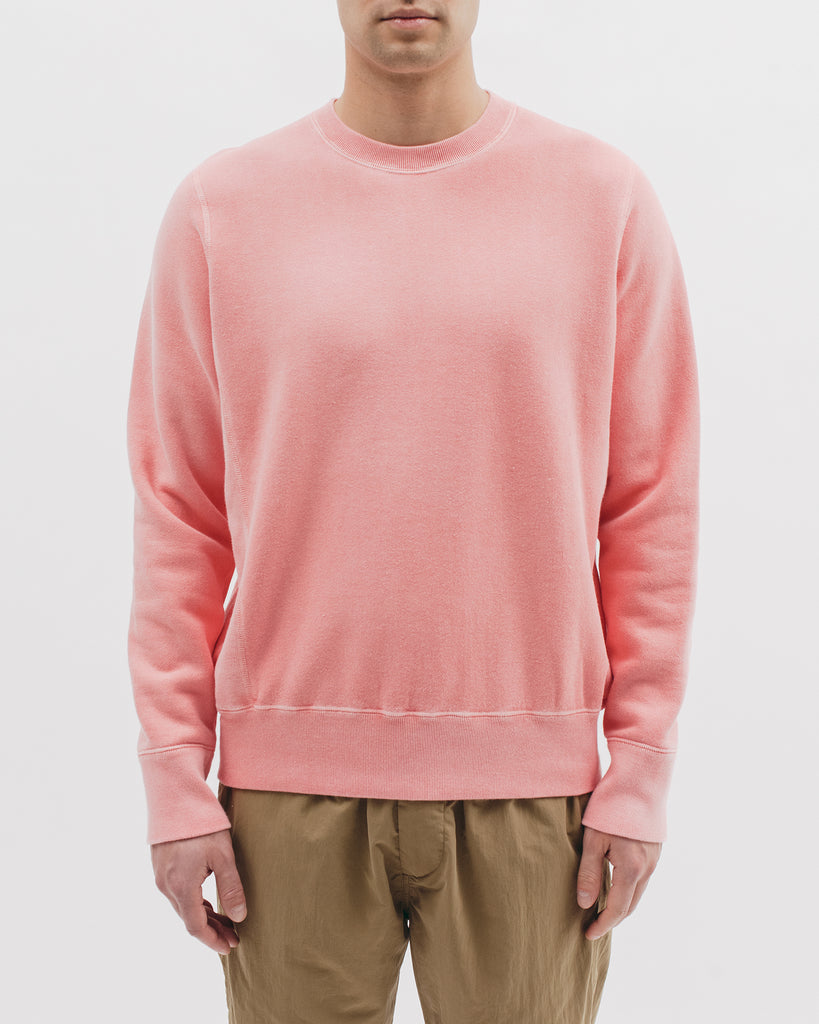 Natural Dyed Crew Fleece - Coral - [product _vendor]