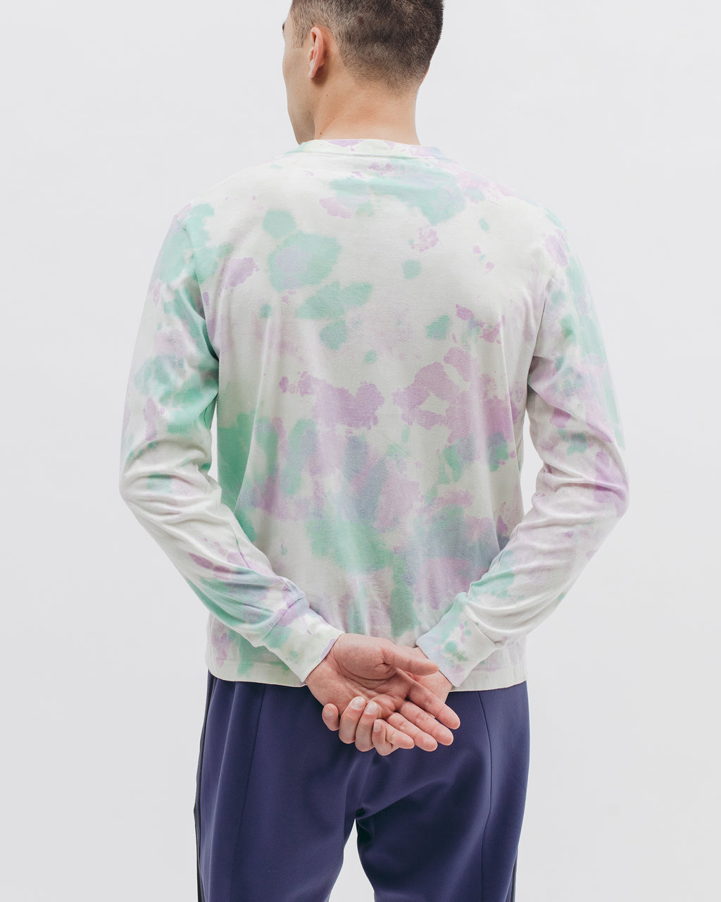 Natural Dyed Block L/S Jersey - Tie Dye - [product _vendor]