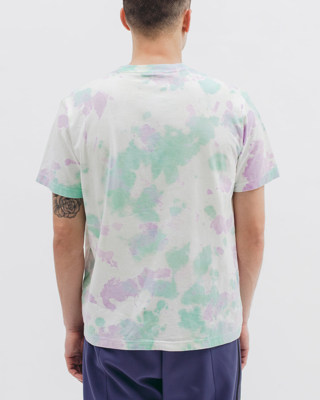 Natural Dyed Block S/S Jersey - Tie Dye - [product _vendor]
