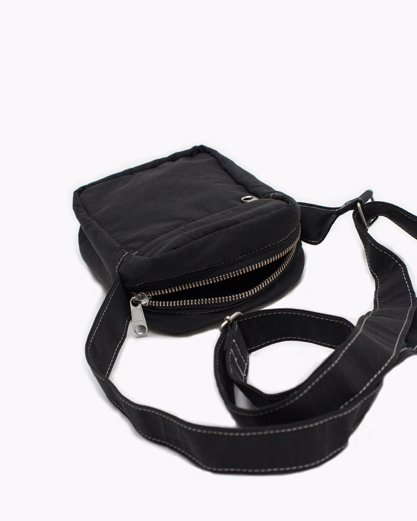 Contrast Shoulder Bag - Black - [product _vendor]