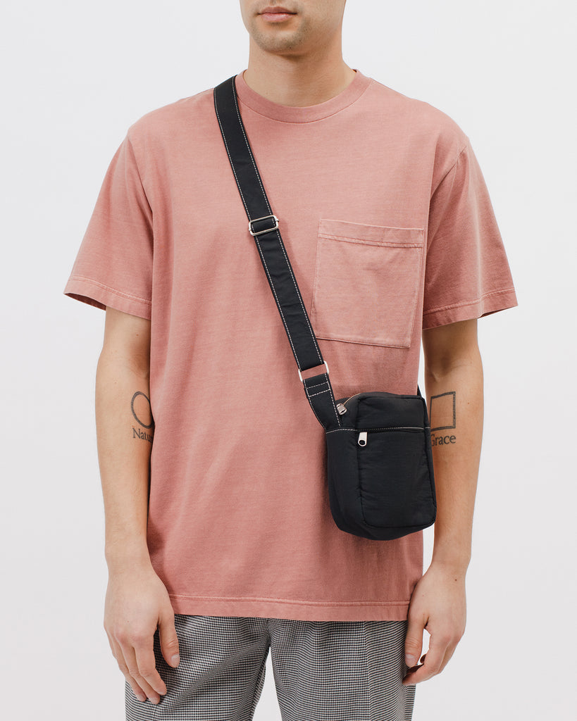 Padded Shoulder Bag - Black - Maiden Noir