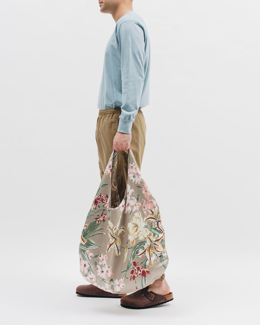 Lilium Rayon Oversized Shoulder Bag - [product _vendor]