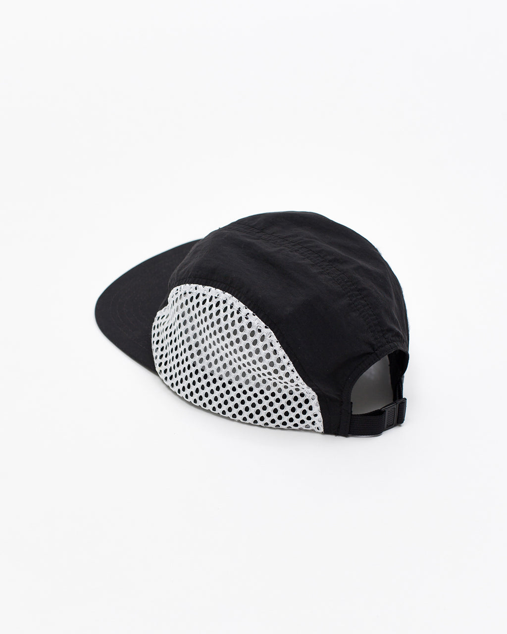 Brushed Nylon Sports Cap - Black - [product _vendor]
