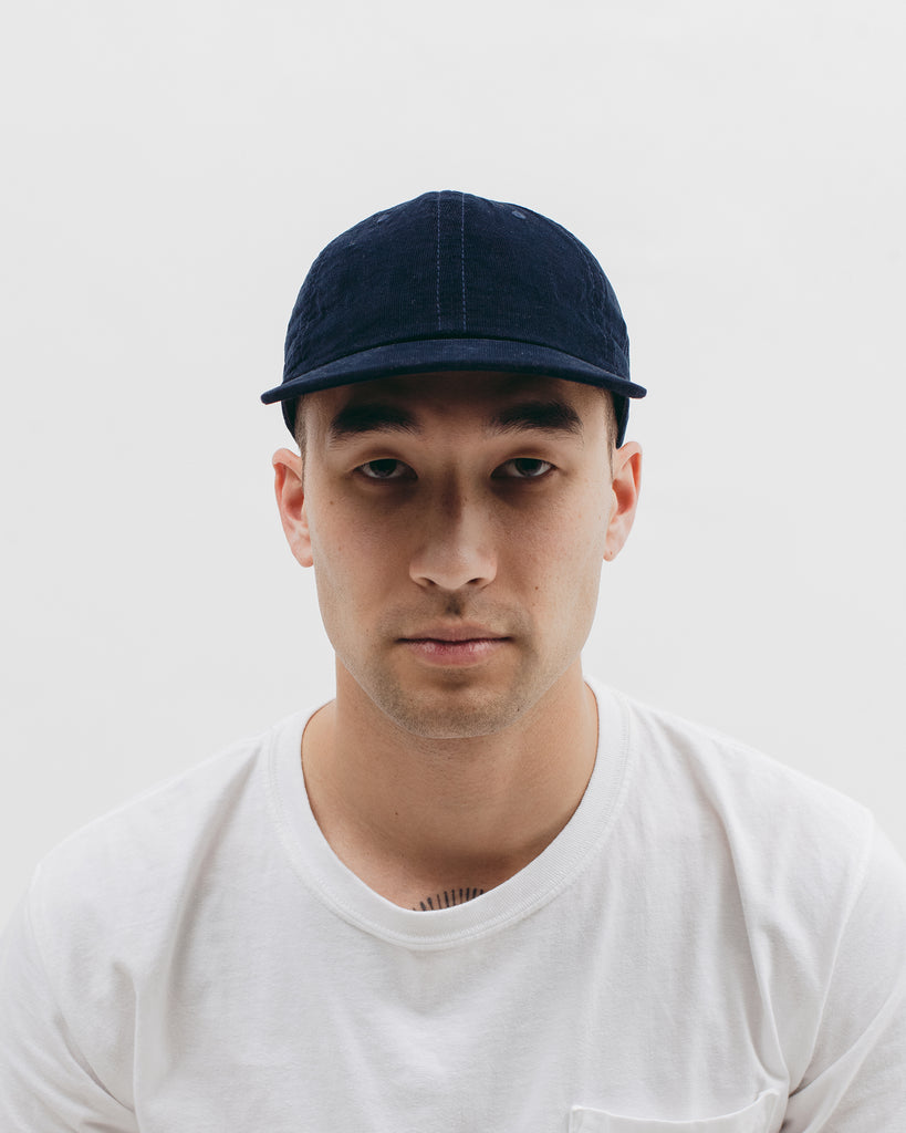 Light Corduroy Cap - Navy - [product _vendor]