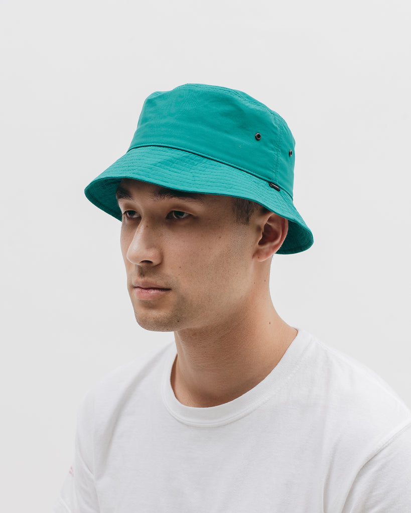 Tech Bucket Cap - Aqua - Maiden Noir