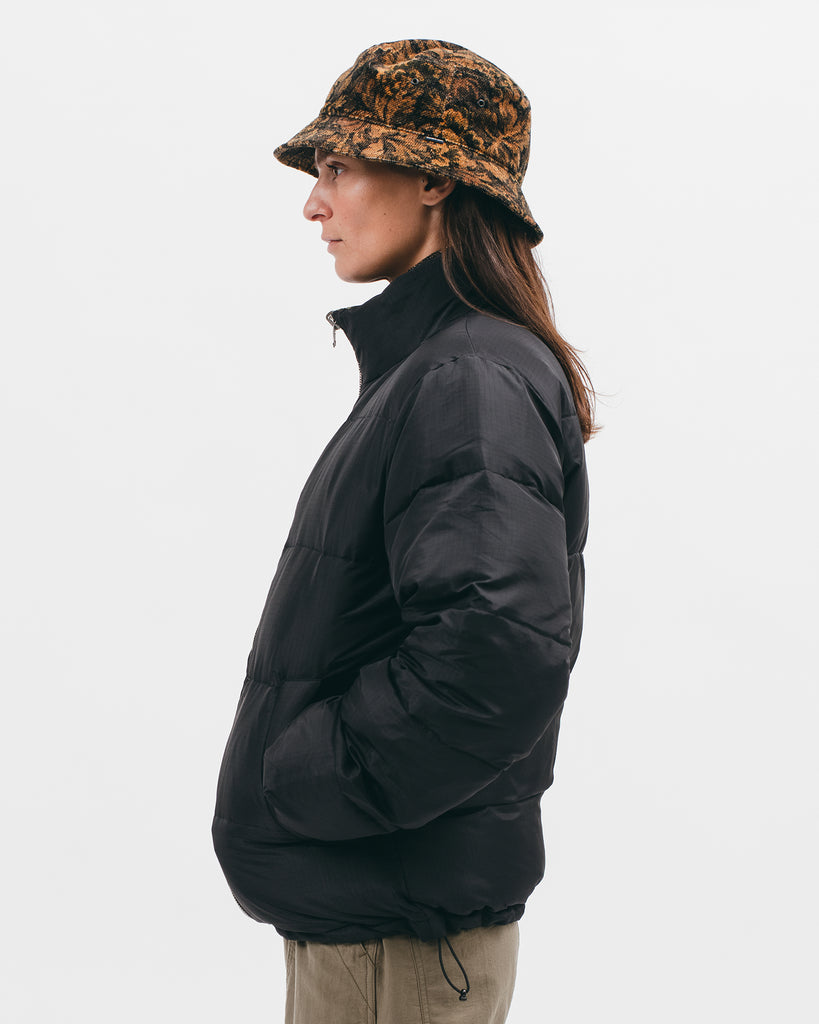 Reversible Puffer Jacket - Black / Moss - [product _vendor]