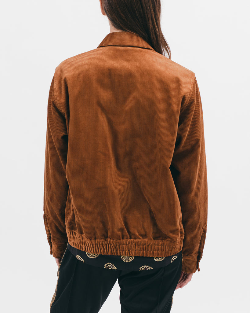 Harrington Jacket - Camel Cord - [product _vendor]