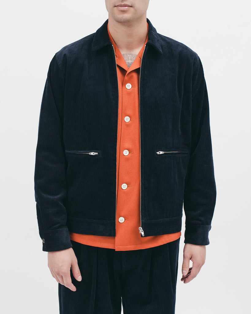 Harrington Jacket - Midnight Cord - [product _vendor]