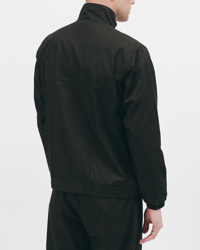 Track Jacket - Black Grid - [product _vendor]