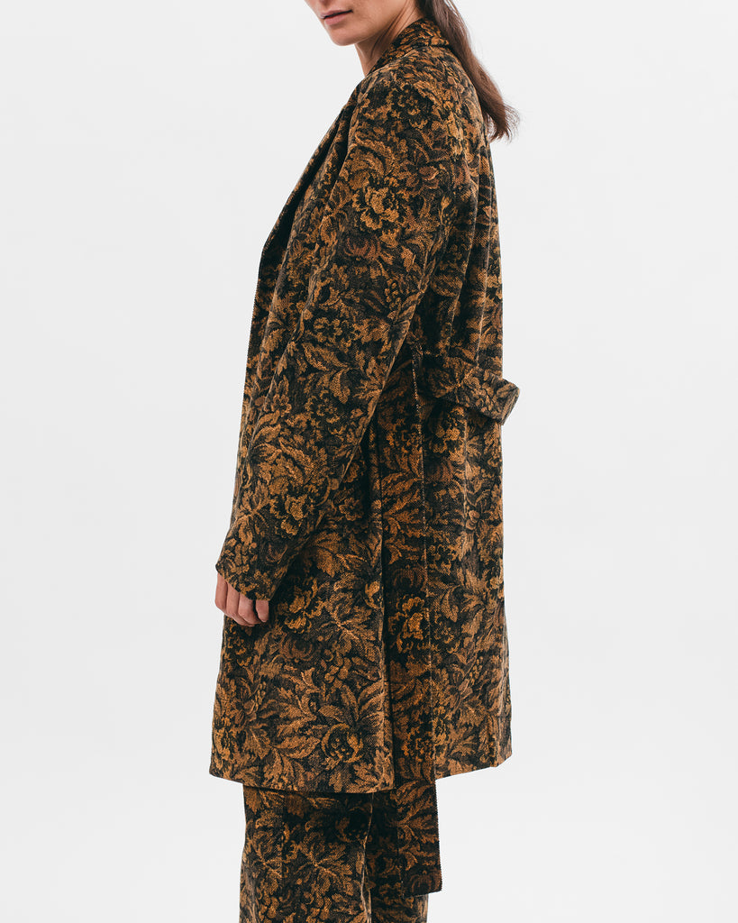 Belted Overcoat - Leaf - [product _vendor]