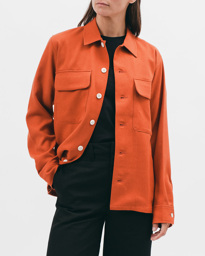 Boxy LS Shirt - Terracotta - [product _vendor]